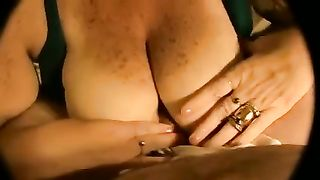 Chubby non-professional horny white wife gives me tugjob and acquires her hands obscene in cum