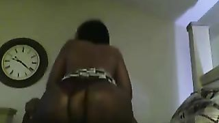 Big jugged South African hoe with giant a-hole sucks and rides my BBC