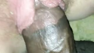 Just reaming white wife's all juicy and itchy cookie by dark weenie
