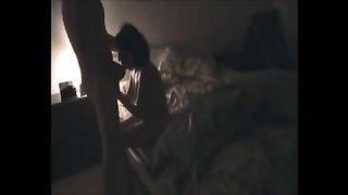 My slender brunette hair GF enjoys vehement sex with me in homemade movie