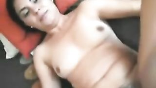 Cute shaggy Iranian milf takes weenie in her hot and all moist love tunnel
