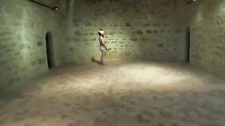Exhibitionist Wife Nude In Museum Voyeurs