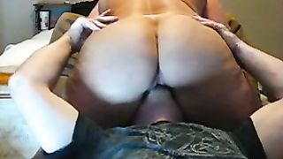Homemade sex movie with me, eating my wife's pussy