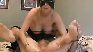 Blode breasty milf Married slut wanking my greasy knob on livecam