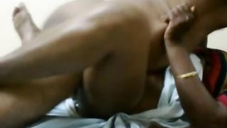 Plump legs of horny Desi dirty slut wife is widen and her bawdy cleft is nailed mish