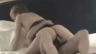My light haired turned on bootylicious wifey enjoys riding my schlong