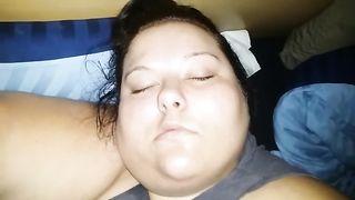 Sleep cum bbw melanie Wagner