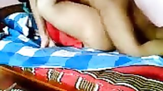 Chubby Bangladeshi wifey fucked in missionary position