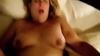 I fuck my neighbor's golden-haired haired obese lewd wifey missionary