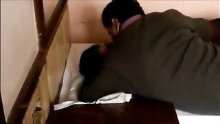 Dudde copulates his cute and bulky Indian girl on webcam