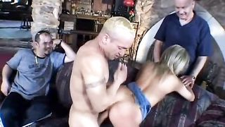 Sassy and constricted milf sweetheart Heidi fed and drilled with a large cock
