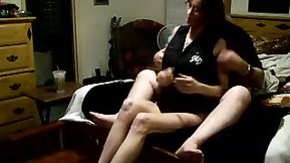 I love playing with my hawt leggy wifey's natural bumpers