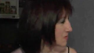 Mature, European beauty gets her chance to blow a big, black cock