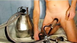 PENIS MILKING MACHINE three
