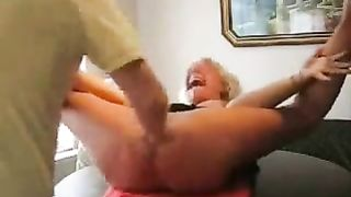My buddy's perverted large bottomed wife likes coarse fisting