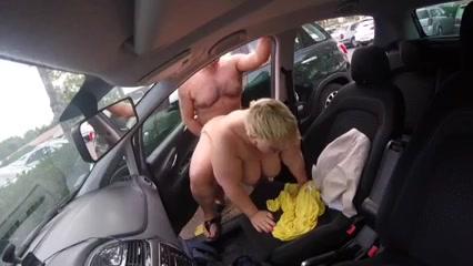 Bbw car fuck