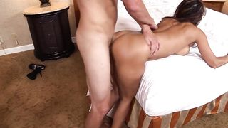 Married Wife with Younger Lover Caught Fucking On Sofa