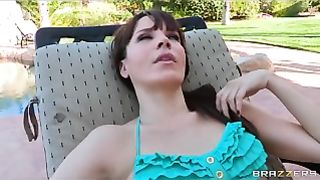 Brazzers - Sexy tattooed is fucked by her horny lesbian GF