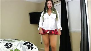 Big natural tits lesbian stapon