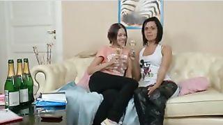 lesbian anal strapon teen dolls