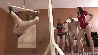 Bisexual dude in restraints getting pegged during the time that engulfing on one more mans dick