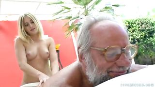 [Grandpas Fuck Teens XXX] Aria Logan and her much older friend