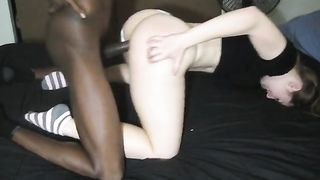 Private interracial cuckold wife in HomeMade Porn