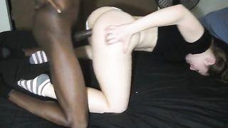 Private interracial cuckold wife in HomeMade Porn