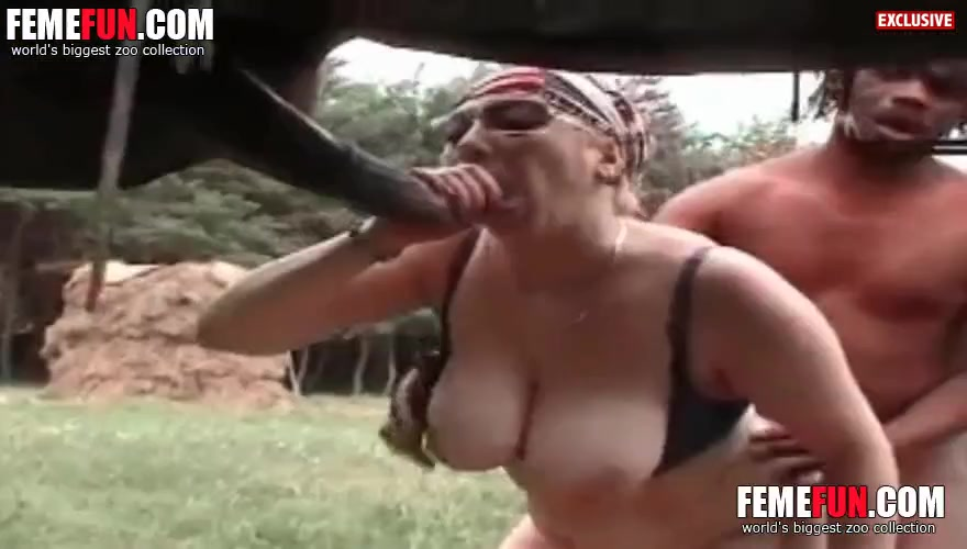Zoo Threesome Porn
