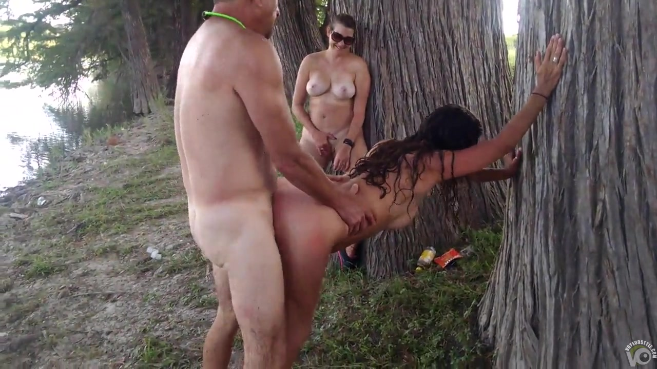 Wife sucks while hubby jacks off 6