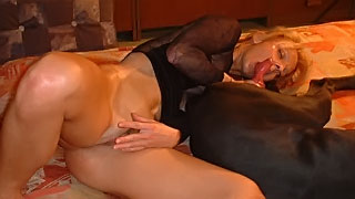 Incredible beastiality video depicts slut wife stretched by endowed K9