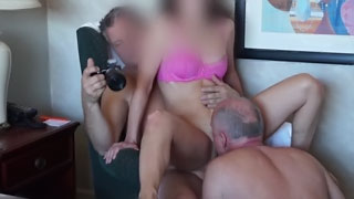 Wife First Time Shared Full - Amateur MMF Threesome