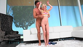 [ Homemade Incest Porn ]  Young Sister fucked by Brother after sunbathing