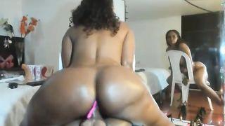 Black Mature Mom Fucking The Doll She Home Alone