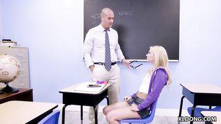 Pervert daughter wants her teacher's big dick