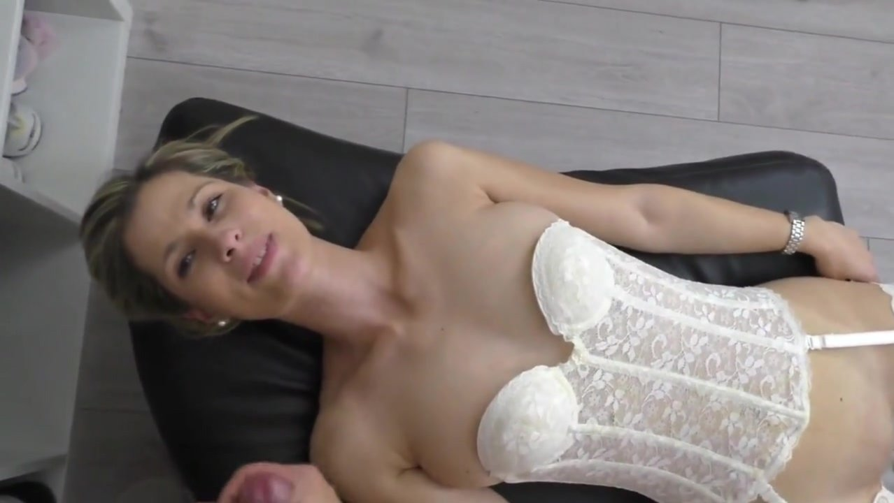 Sister on couch masturbation