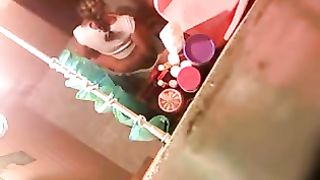 [ Real HomeMade Sis Porn XXX ] Sister caught masturbating on the toilet