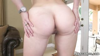 Mom and daughter take off panties to give a hot cock ride to a submissive chap