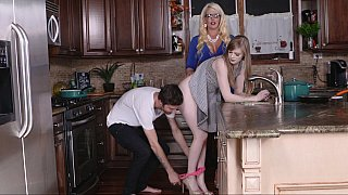 [ XXX Sex Mom and daughter lesbians ] Three-way fun with the family