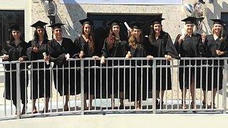 Graduation day and slutty girs