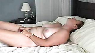 Home alone wife mastrubation - Masturbation of my mature wife