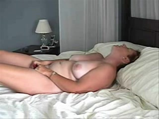 Mature home alone masturbating
