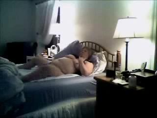 Mom Home Alone Masturbating On Bad Caught By Bad Son Hidden Cam