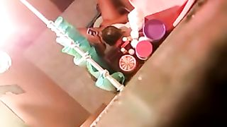 Home Alone Wife Mastrubation Wife Caught Watch Porn And Masturbating On The Toilet