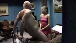 [ Father Daughter Anal ] Daddy FUCKS and CUMS in his DAUGHTER