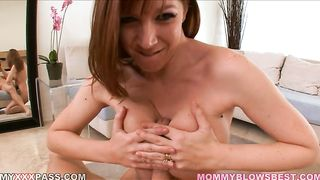 Years of BJ experience pay off - daughter distruction