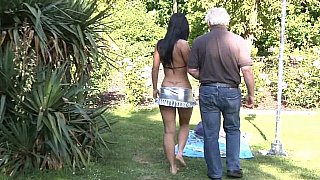 daddy daughter blowjob -  Grandpa's luckiest day