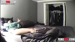 Hidden cam caught - My wife masturbate and send dirty text messages her lover