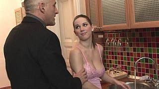 Ride an ancient cock - father daughter incest porn