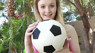 Teen soccer slut - father and daughter incest porn